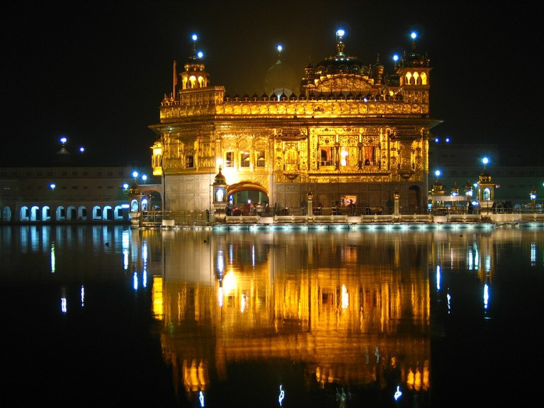 Golden Temple, Amritsar |©Jeremy Vandel/WikiCommons