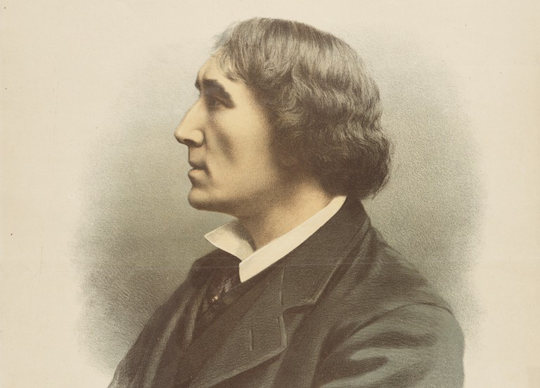 Henry Irving, Stoker's boss, is said to have inspired aspects of the Dracula character | © National Library of Scotland/WikICommons