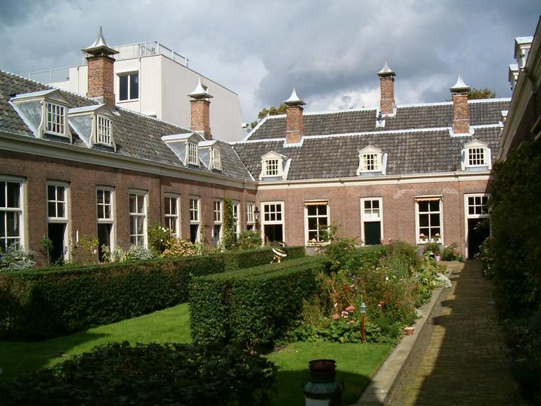 A hidden garden in Haarlem