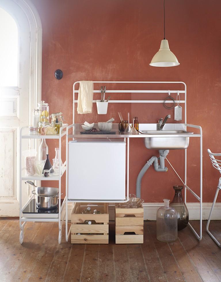 The Ikea Sunnersta mini kitchen only costs $112