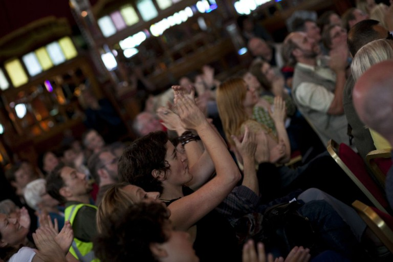 Enthusiastic Audiences At Edinburgh Festival Fringe