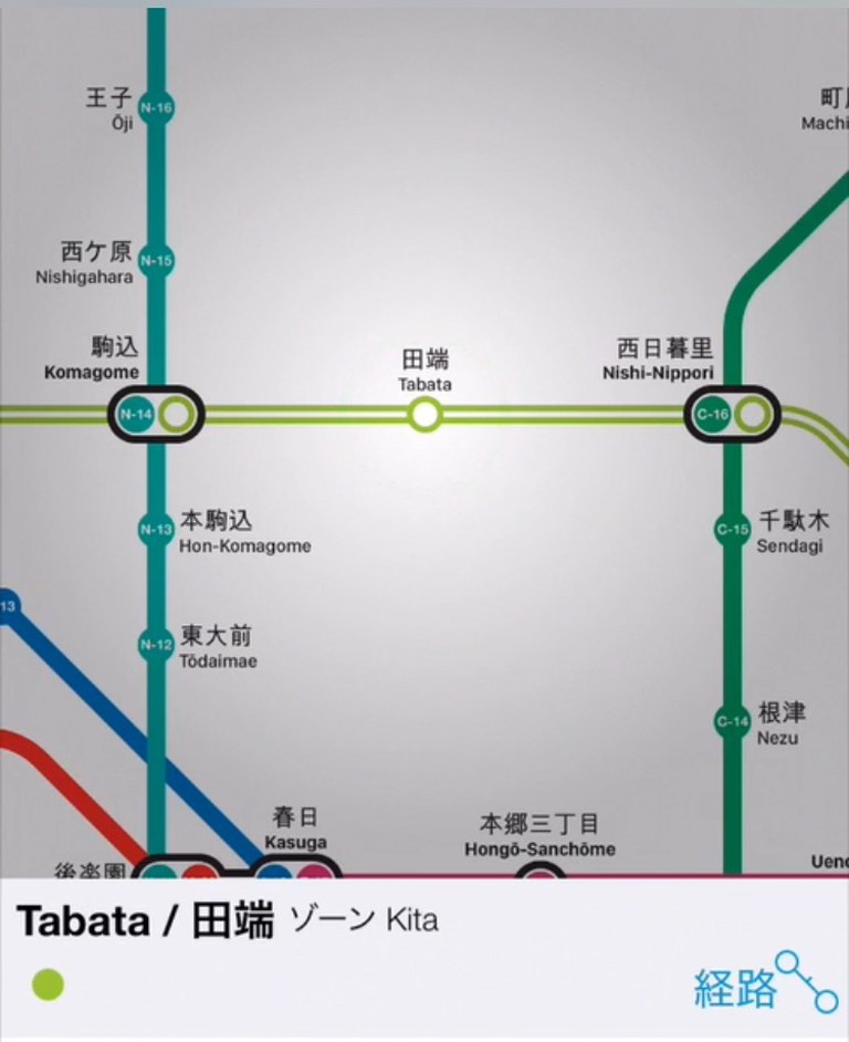 The Tokyo Metro Subway Map and Route Planner by Mapway