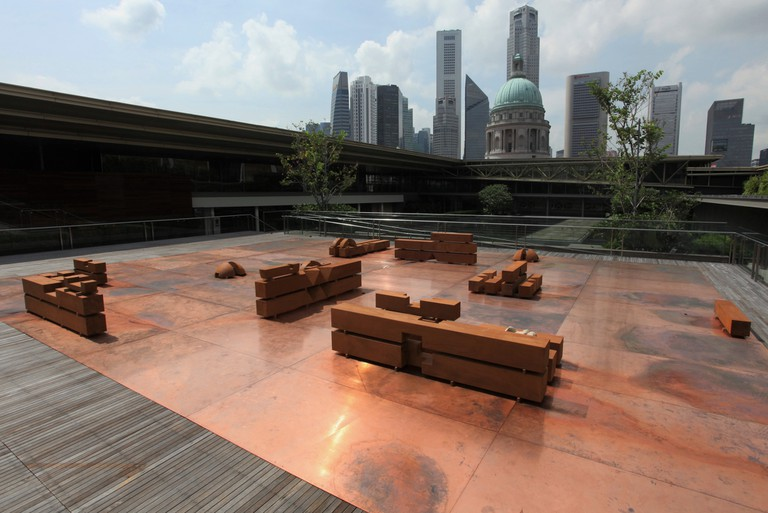 Danh Vo's Sculpture Garden | Photo Credit: National Gallery Singapore