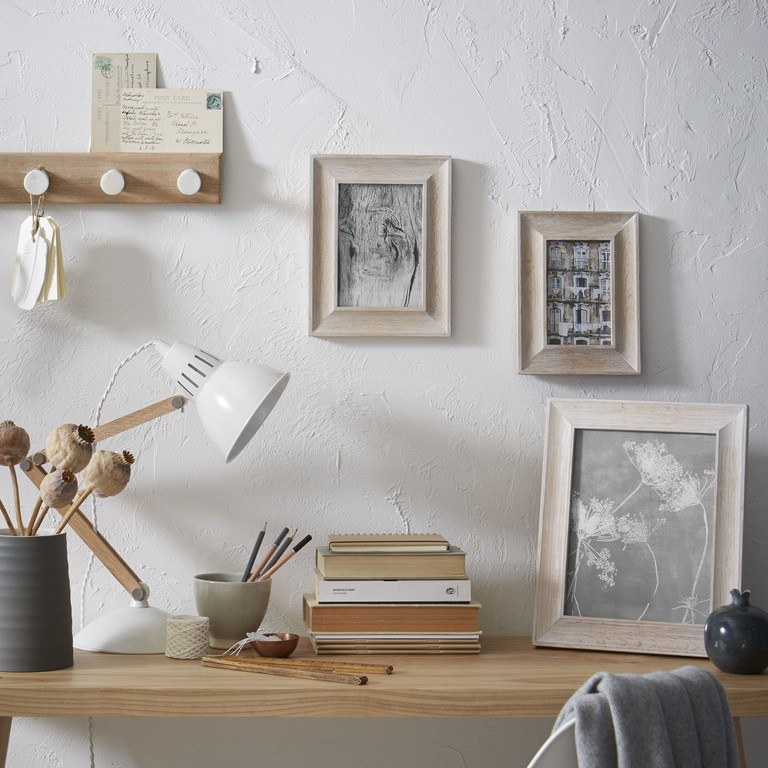 Display a range of photos and prints in frames like these from John Lewis' Croft collection