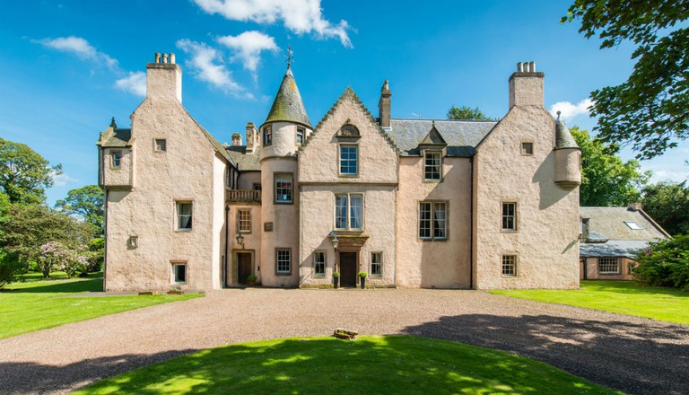 Keith Marischal House & Tower| Courtesy Of Savills