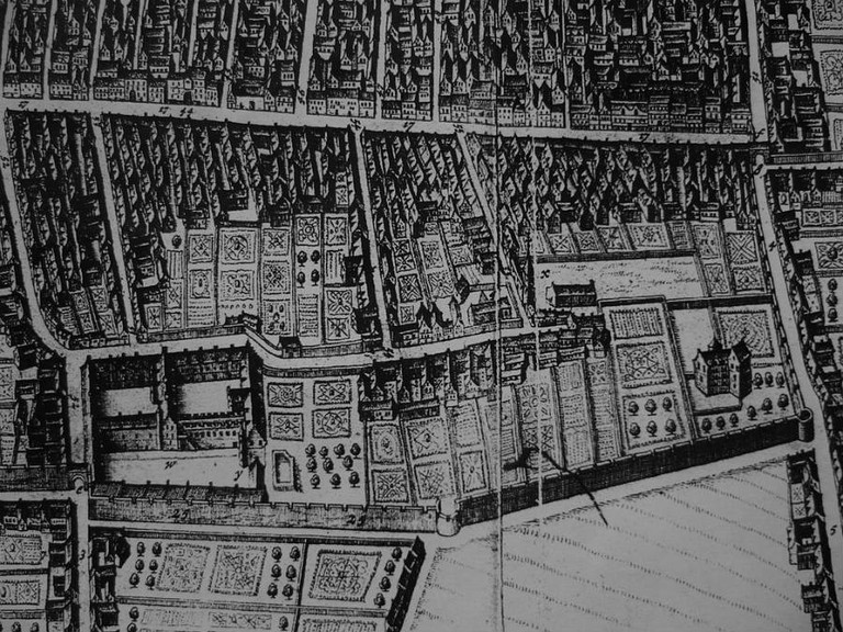 King James' College, Edinburgh c.1647