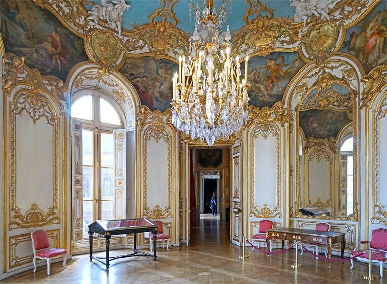 Le salon de la Princesse (Hôtel de Soubise, Paris) │© Jean-Pierre Dalbéra