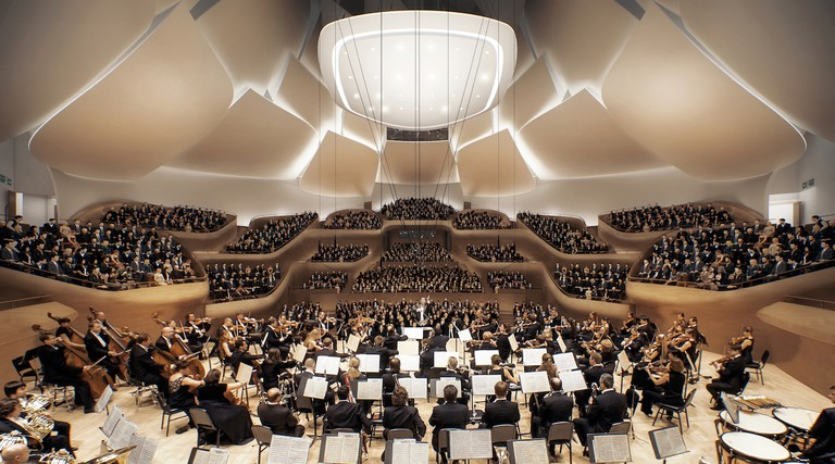 Main concert hall