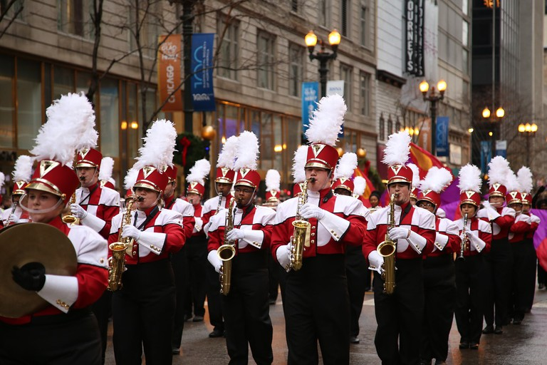 Marching Band, Chicago | Public Domain/Pixabay