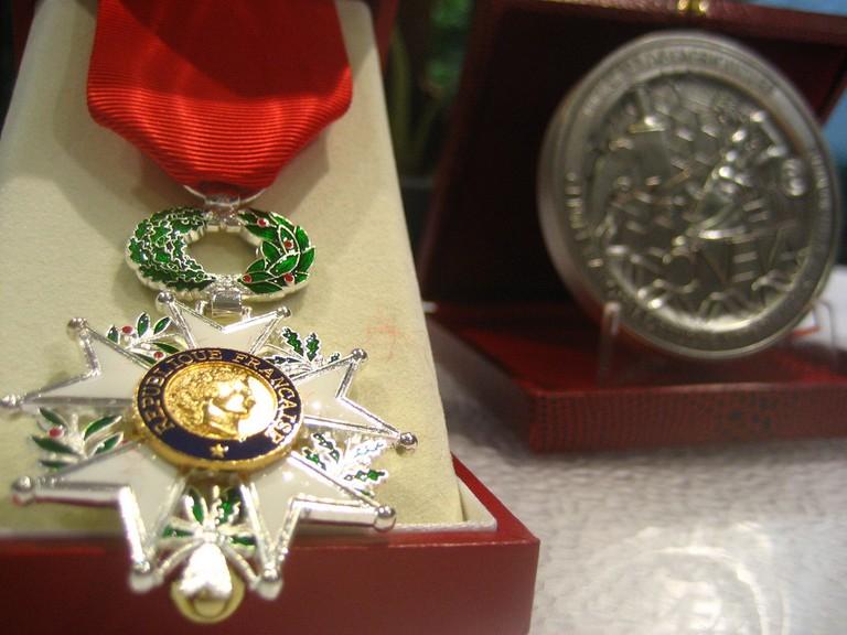 Médaille de chevalier de la Légion d'honneur │