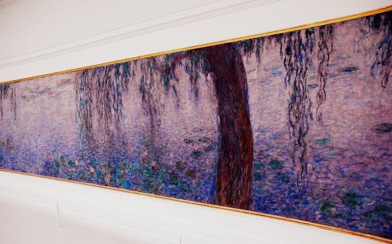 One of the Nymphéas paintings at the Musée de l'Orangerie │