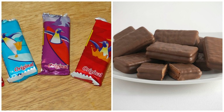 Penguin Biscuits | © Dabbler/WikiCommons // Tim Tams | © Bilby/WikiCommons