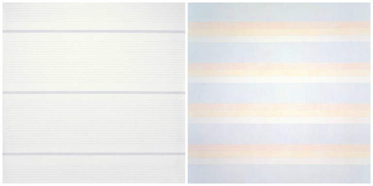 Agnes Martin Untitled #15, 1988 Acrylic paint and graphite on canvas, 182.9 x 182.9 cm Museum of Fine Arts, Boston, Gift of The American Art Foundation in honor of Charlotte and Irving Rabb, 1997 © 2016 Agnes Martin/Artists Rights Society (ARS), New York / Agnes Martin Untitled #2, 1992 Acrylic and graphite on canvas 72 x 72 inches (182.9 x 182.9 cm) Private collection © 2016 Agnes Martin/Artists Rights Society (ARS), New York