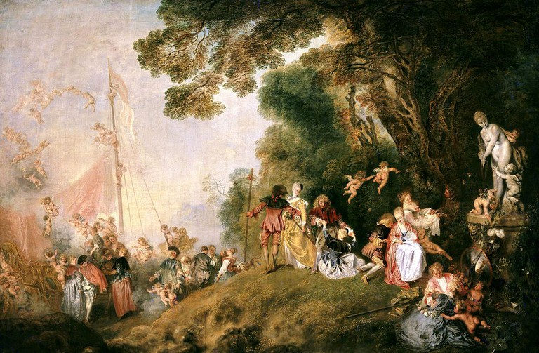 Pilgrimage to Cythera (1718–1721) by Antoine Watteau (1684–1721) │© Lafit86