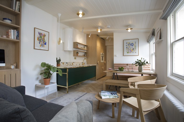 Play Associates designed this small London flat