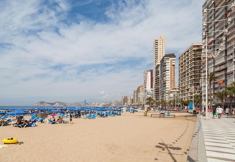 Playa Levante, Benidorm | @DiegoDelso
