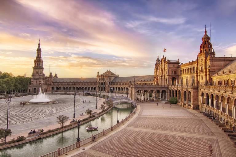 Plaza de España Seville | ©FranciscoColinet