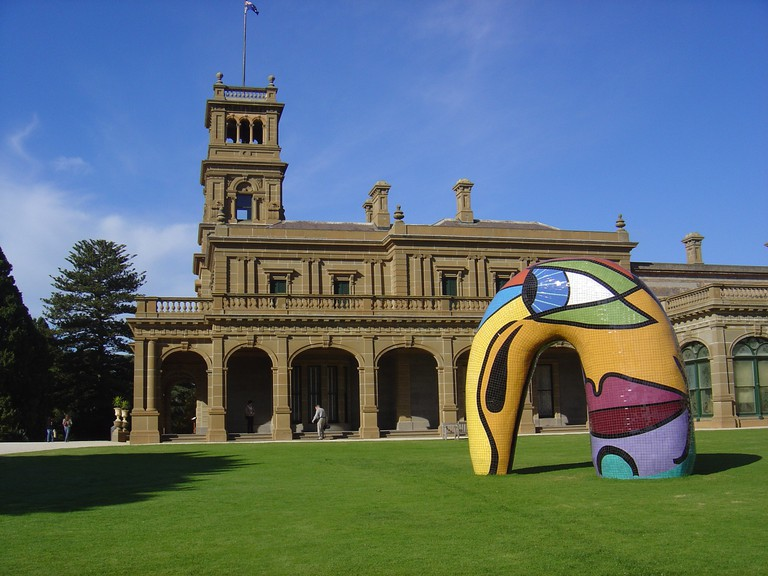 Portal to Another Time and Place at Werribee Mansion, Melbourne, Australia