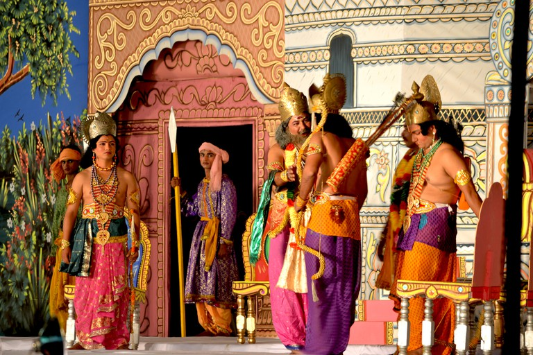 Re-enactment of a scene from the Ramayan |©Ankit Gupta/WikiCommons