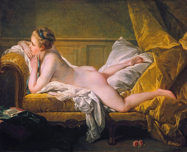 Resting Maiden (1751) by François Boucher (1703–1770)│© WikiCommons