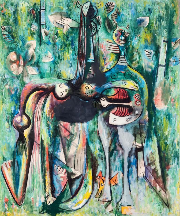 'The Sombre Malembo', Wifredo Lam, 1948|© SDO Wifredo Lam/Tate