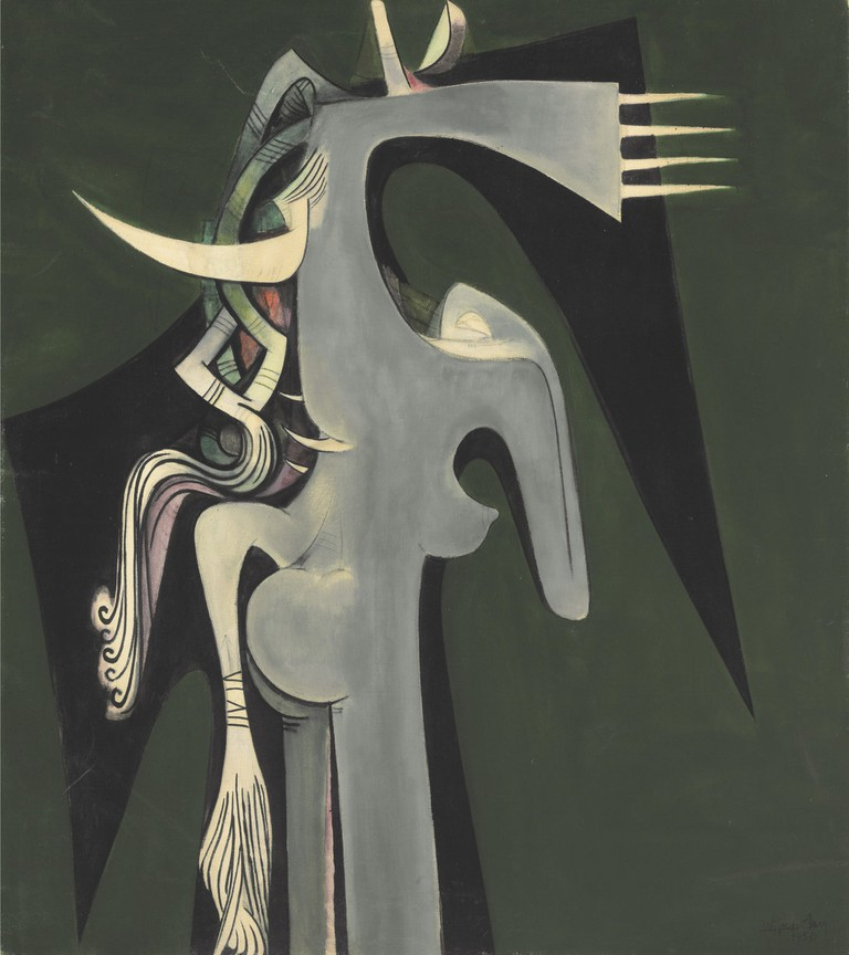 'Horse-Headed Woman', Wifredo Lam, 1950|© SDO Wifredo Lam/Tate