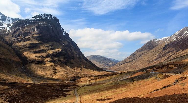 Glencoe Location Seen In Skyfall   © tangentbeta/Pixabay