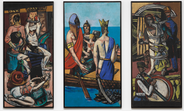'Departure' (1932-1933) | © 2016 Artists Rights Society (ARS), New York / VG Bild-Kunst, Bonn