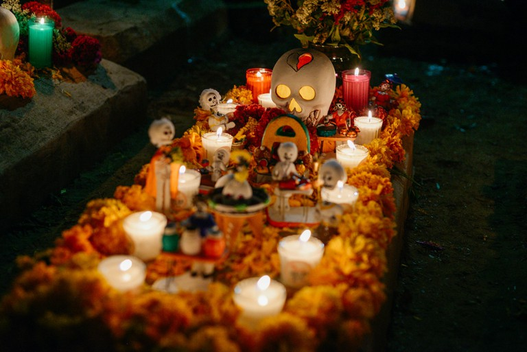 Day Of The Dead-Oaxaca-Mexico
