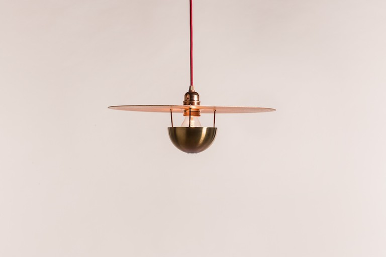 Cymbal pendant light by Shane Holland Design Workshops | Courtesy of the Design and Crafts Council of Ireland