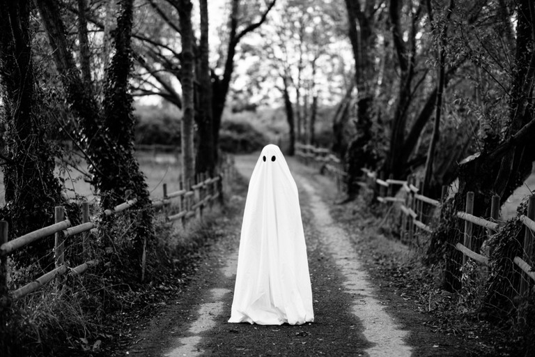 Halloween ghost | © Lemon Tree Images/Shutterstock