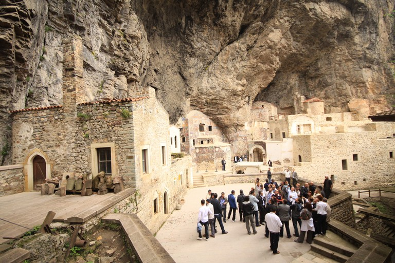 Sumela is 1600 year old ancient Orthodox monastery