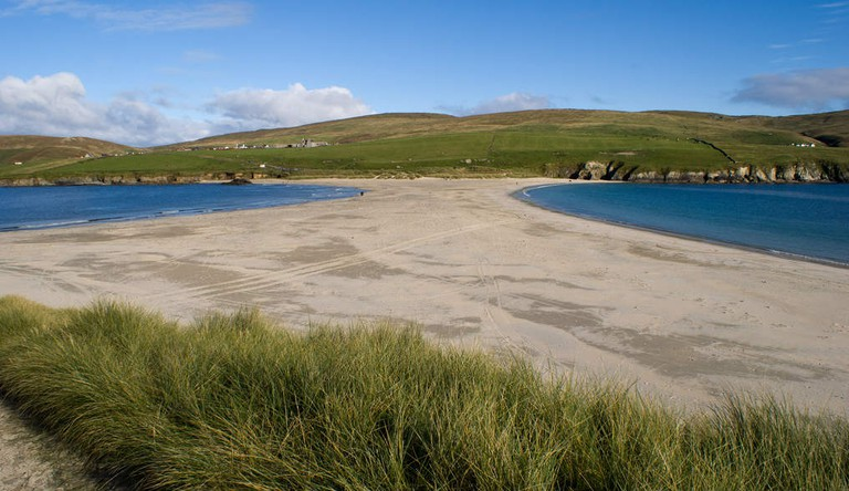 Tombolo from St Ninian's | © AdamKR/Flickr