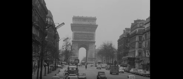 Still from Vivre sa vie by Jean-Luc Godard (1962)