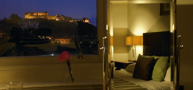 The Balmoral View Of Edinburgh Castle | Courtesy Of Rocco Forte Hotels