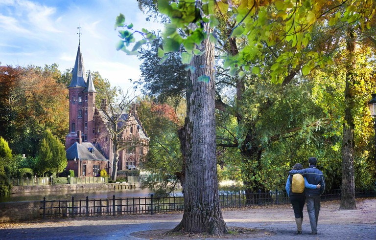 The Minnewater Park | © Jan D'Hondt/courtesy of Toerisme Brugge