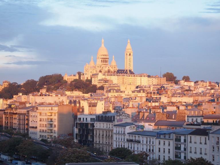 The neighborhood of Montmartre │