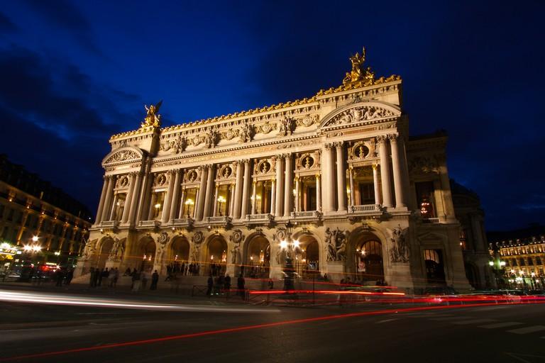 The Opéra Garnier │