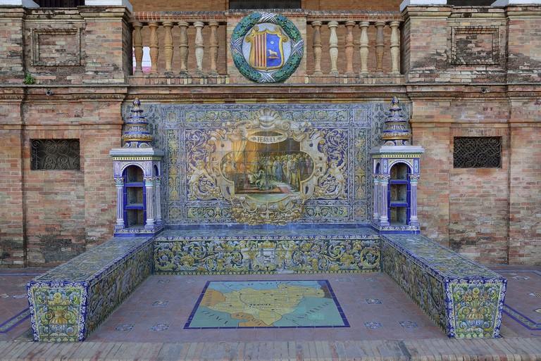 Tiles Plaza de España | ©Carlos Jiménez Ruiz