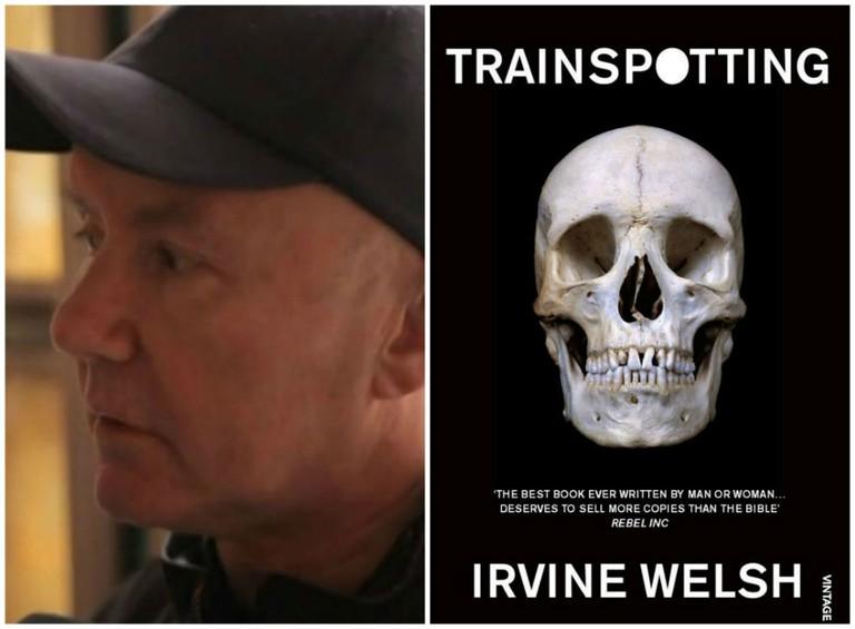 Irvine Welsh | © Vimeo // © Harvill Secker