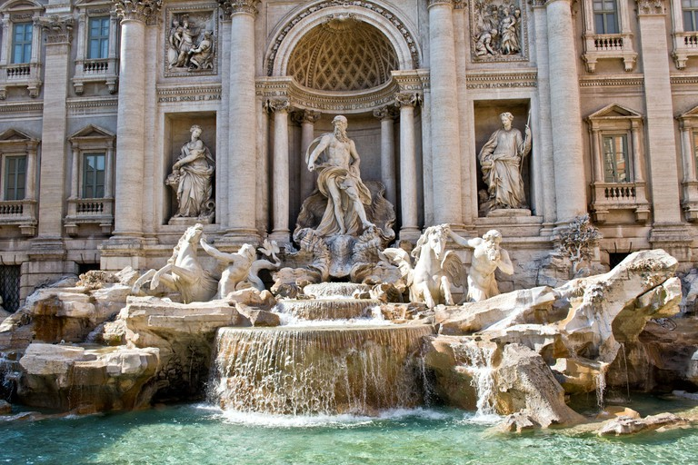 Trevi Fountain | © Flickr/Benjamin Watson