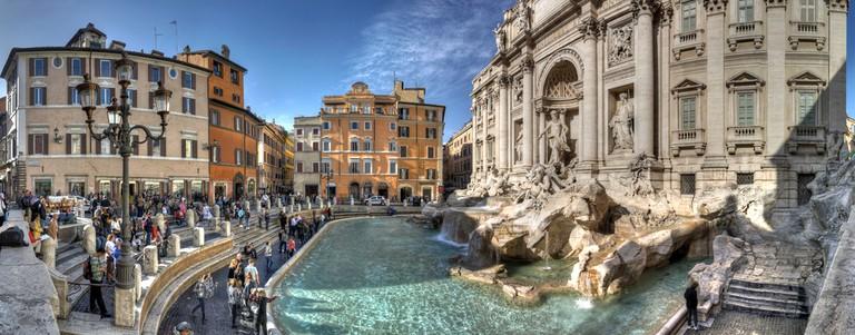 Trevi Fountain | © Flickr/Giorgio Galeotti