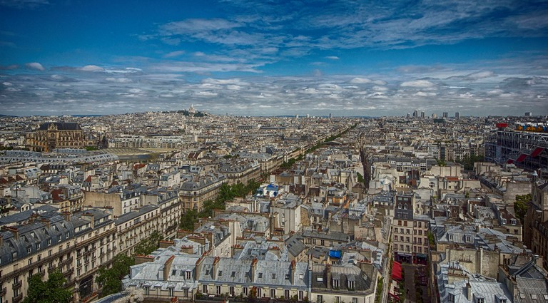 View from the Tour Saint Jacques, adjacent to the Théatre de la Ville │© Claude Attard