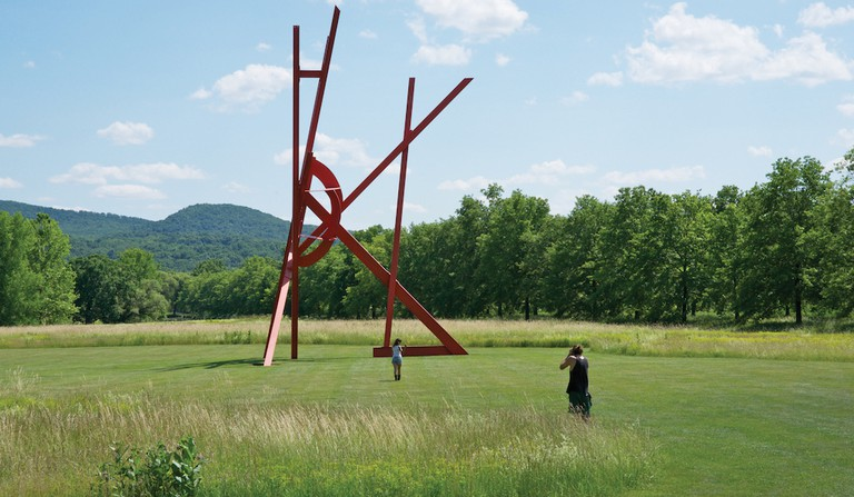 Sculpture by Mark di Suvero at Storm King | © Storm King