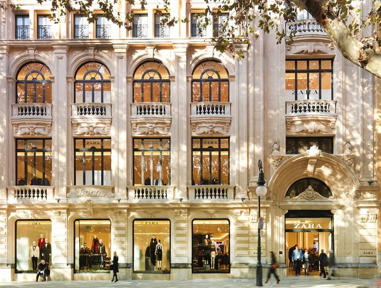 The Zara store in Mallorca | © Gpccurro