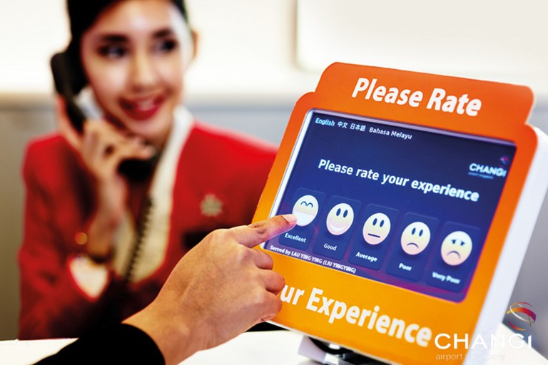 Instant Customer Feedback | Courtesy of Changi Airport