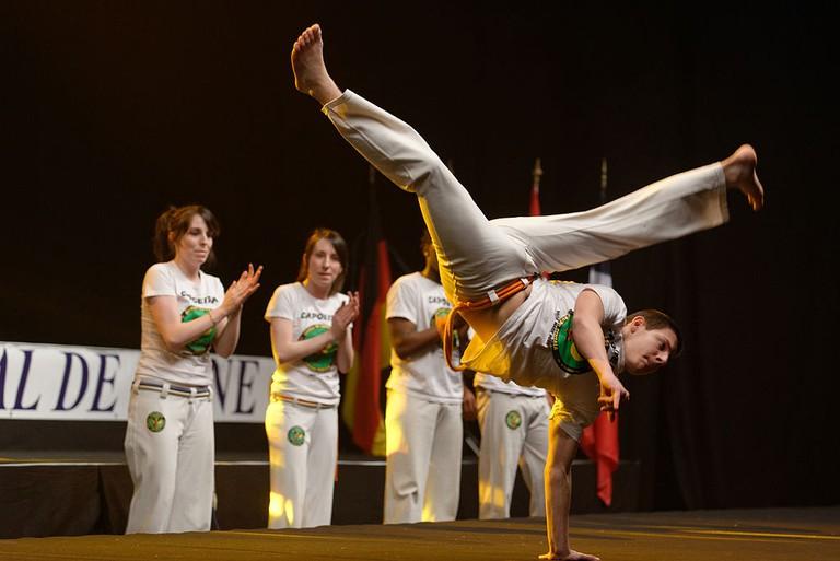 Capoeira master  © Marie-Lan Nguyen/WikiCommons