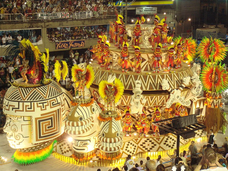 Samba school parades |© Sergio Luiz/WikiCommons