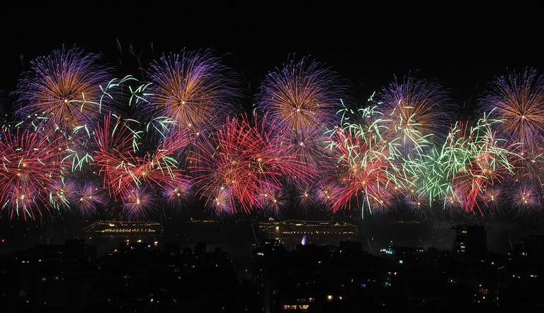 Rio's firework display |© Leandro Neumann Ciuffo/WikiCommons