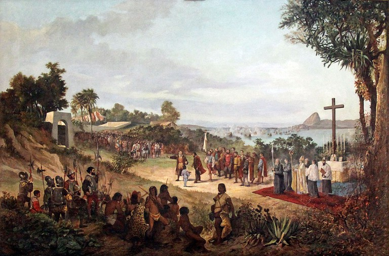 The founding of Rio de Janeiro in 1565 |© Halley Pacheco de Oliveira/WikiCommons